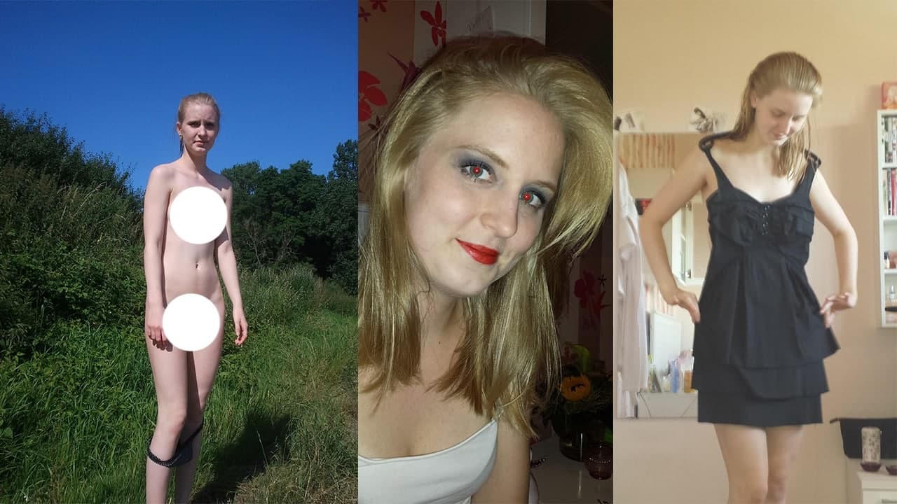 Beautiful Blonde Viviane Amatuer