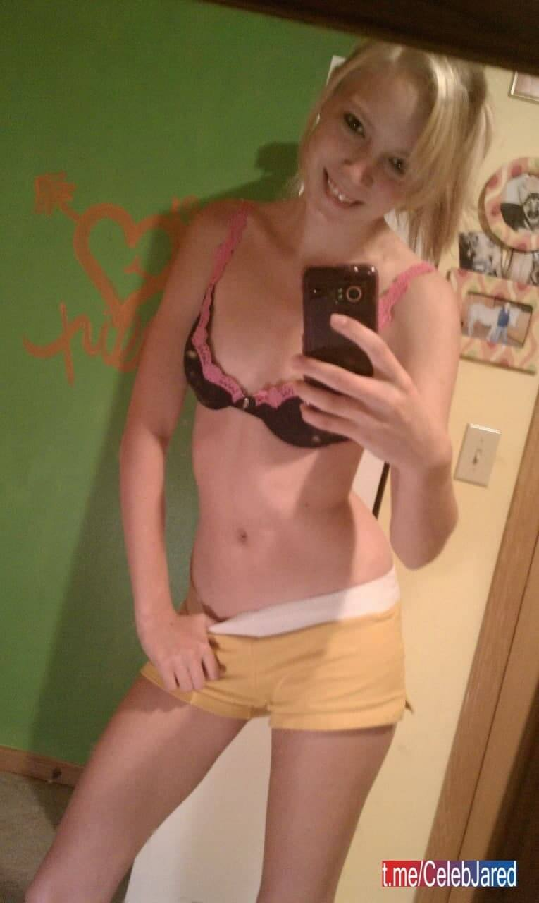 Young Blonde Teen Slut Alex Amatuer